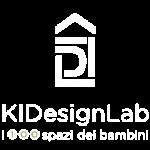 KIDesignLab logo in bianco per footer