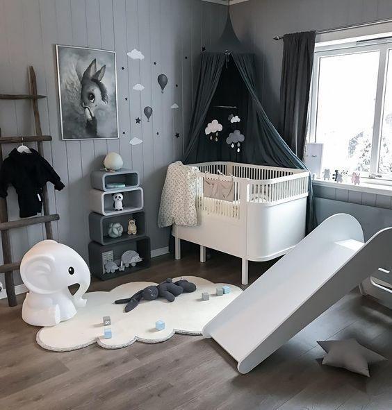 Per i primi 12 mesi di vita del bambino è più stimolante puntare sui forti contrasti di colori, sul chiaroscuro e sulle forme (Foto tratta dal Blog di TYChome