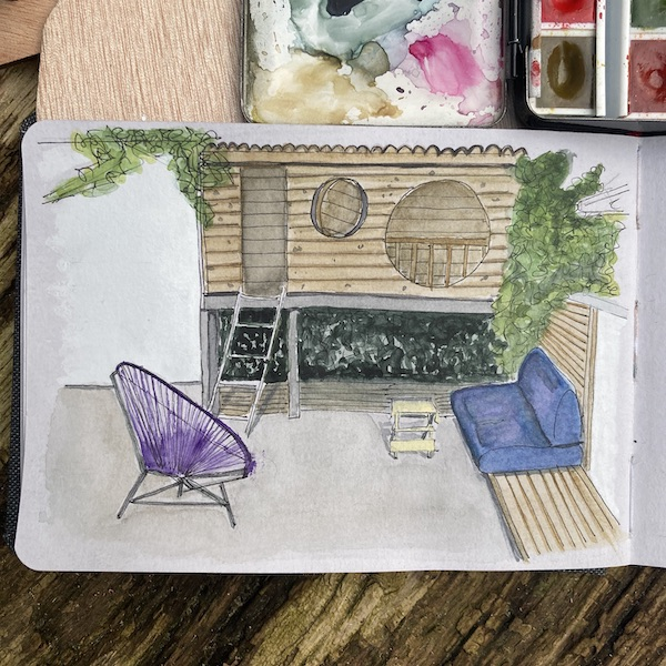 Come allestisco una casetta per il gioco in giardino 2